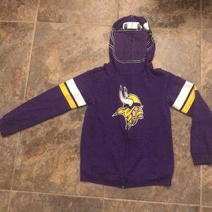 Minnesota Vikings full zip hoodie